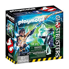 Playmobil - Playmobil Ghostbusters Spengler And Ghost Building Set 9224