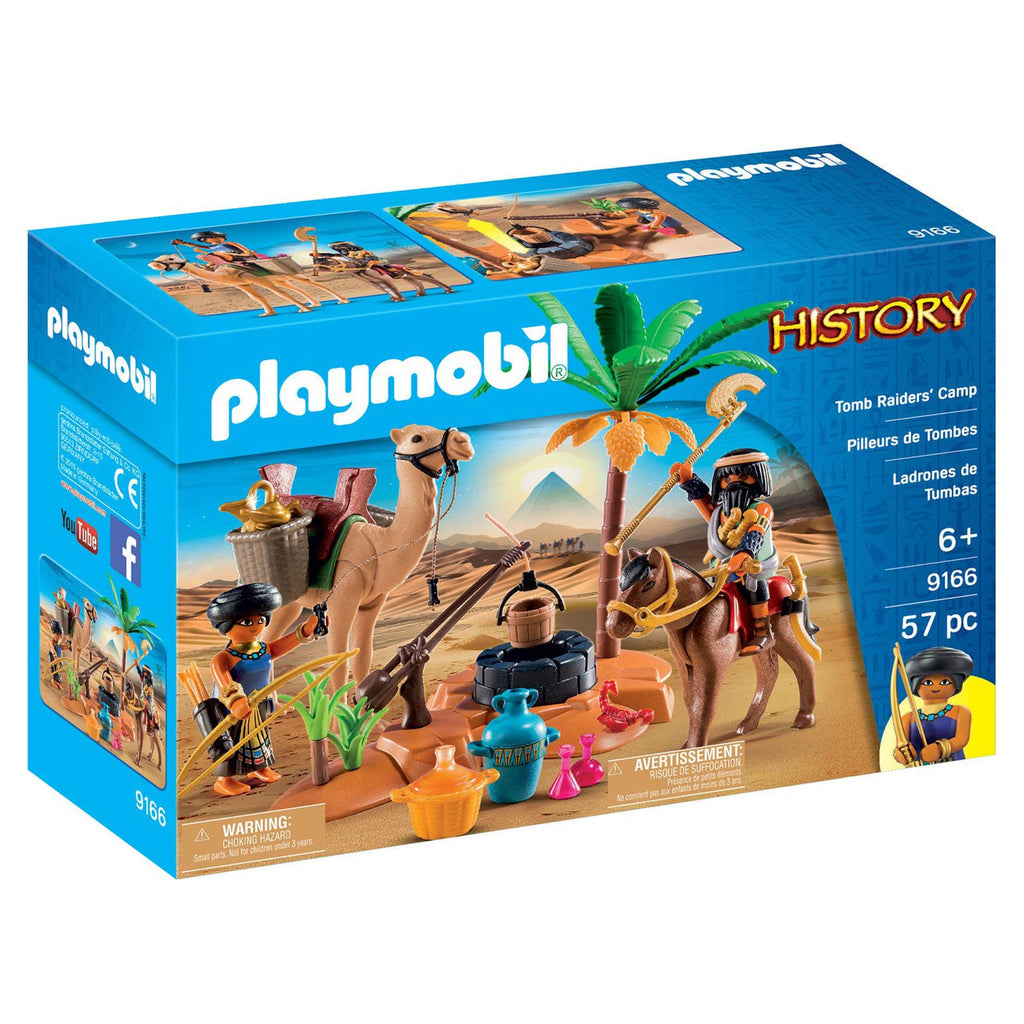 Playmobil History Tomb Raiders' Camp Building Set 9166