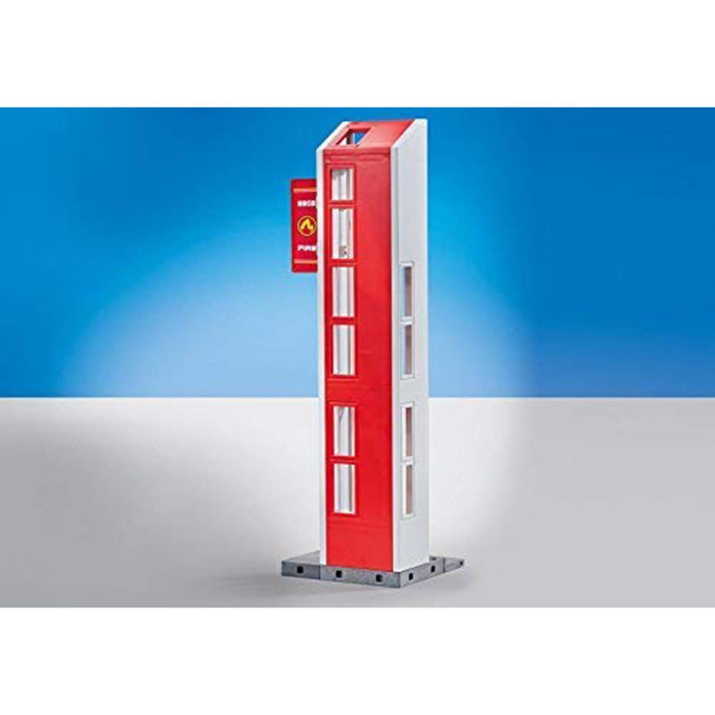 Playmobil Hose Tower For Fire Station Building Set 9802