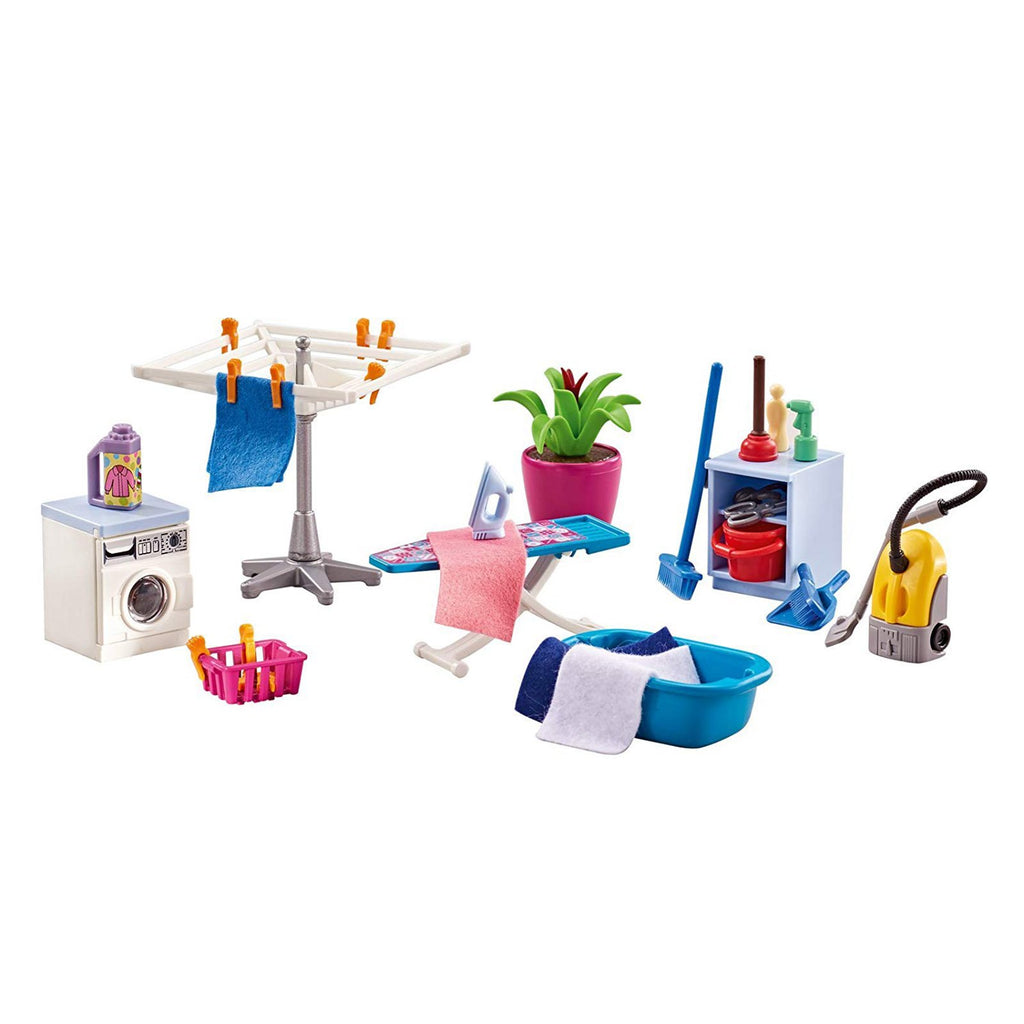 Playmobil Laundry Room Building Set 6557