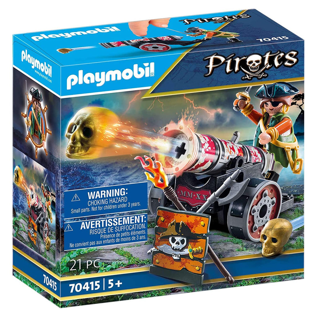 Playmobil Pirates Pirate With Cannon Building Set 70415