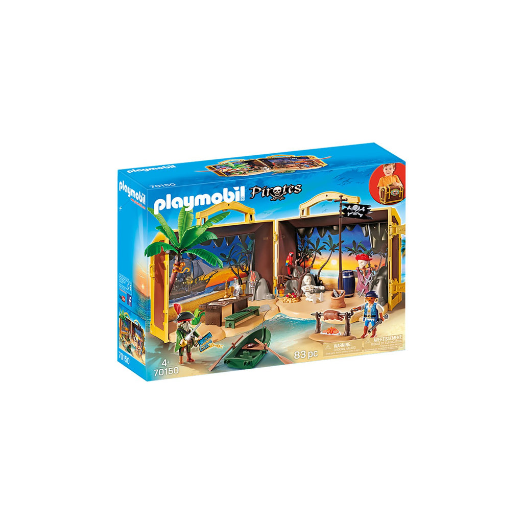 Playmobil Pirates Take Along Pirate Island Building Set 70150