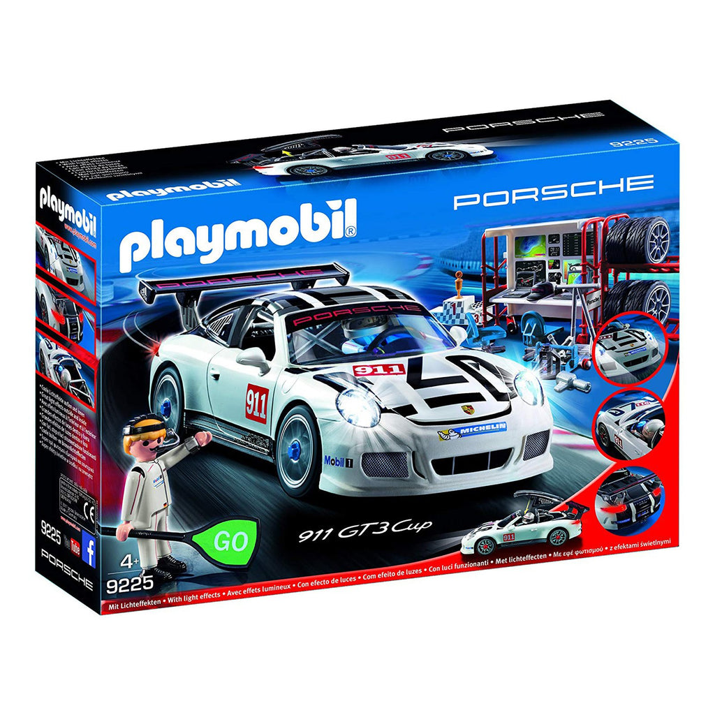 Playmobil Porsche 911 GT3 Cup Building Set 9225