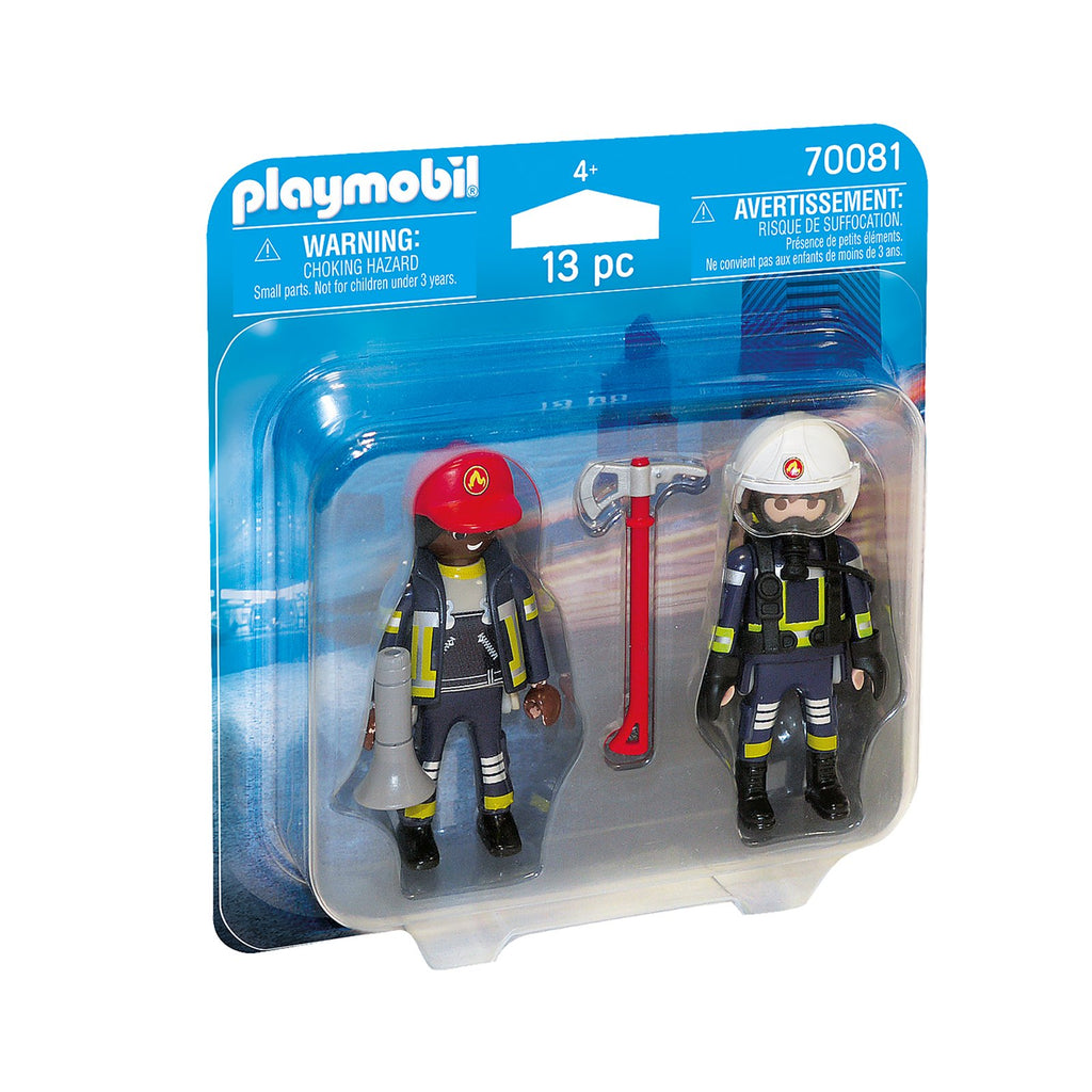 Playmobil Rescue Firefighters Building Set 70081