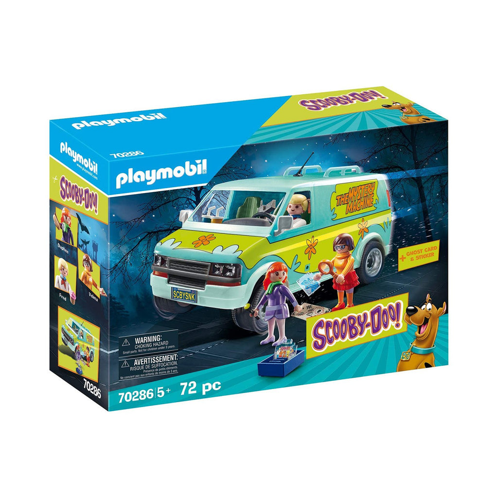 Playmobil Scooby-Doo Mystery Machine Building Set 70286