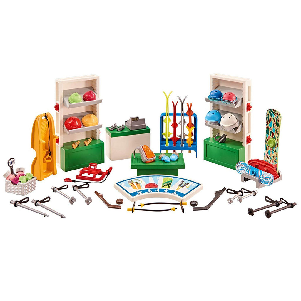 Playmobil Winter Sports Shop Building Set 6570