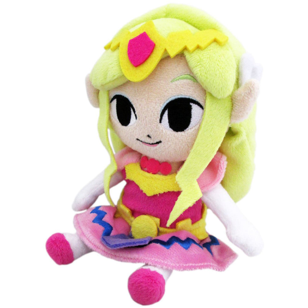 Little Buddy Legend Of Zelda Princess Zelda 8 Inch Plush