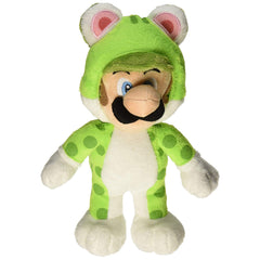 Plush - Little Buddy Super Mario Cat Luigi 10 Inch Plush