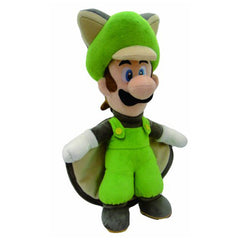 Plush - Little Buddy Super Mario Luigi Flying Squirrel 15 Inch Plush