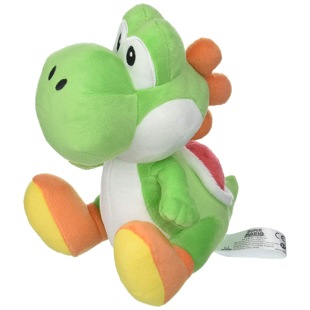 Plush - Little Buddy Super Mario Yoshi 8 Inch Plush