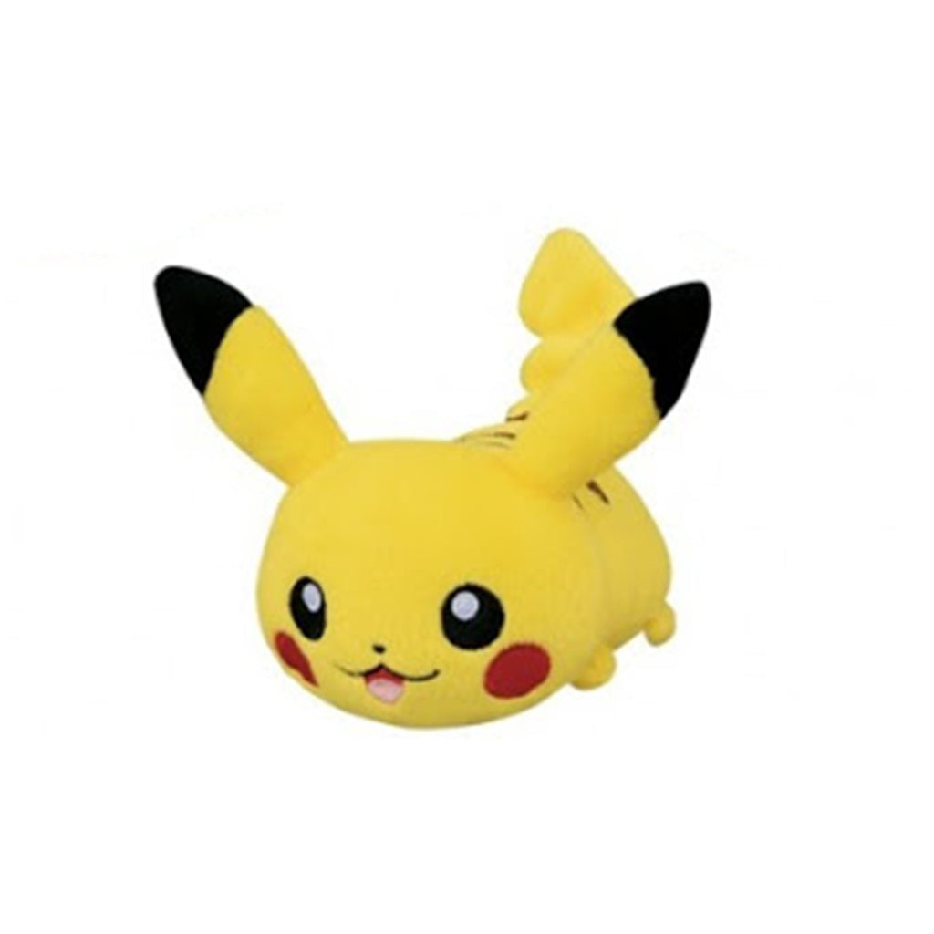Pokemon Sun And Moon Pikachu Laying Down Plush Figure
