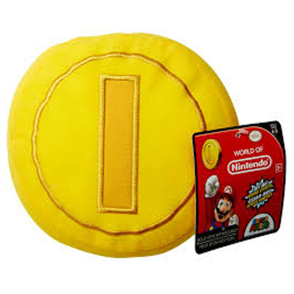 Super Mario World Of Nintendo Coin With Sound Plush