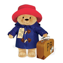Plush - Yottoy Paddington Bear With Suitcase 16 Inch Plush