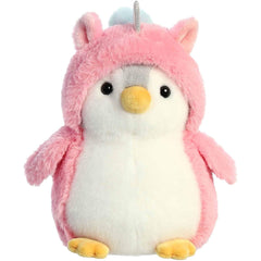 Aurora Pompom Unicorn Penguin 7 Inch Plush Figure