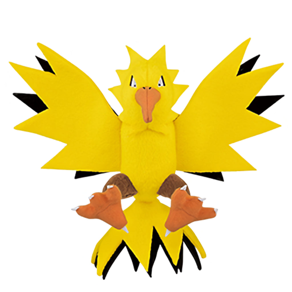 Banpresto Pokemon Pocket Monsters Zapdos 5 Inch Plush Figure