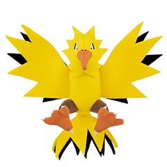 Pokemon Plush Figures - Banpresto Pokemon Pocket Monsters Zapdos 5 Inch Plush Figure