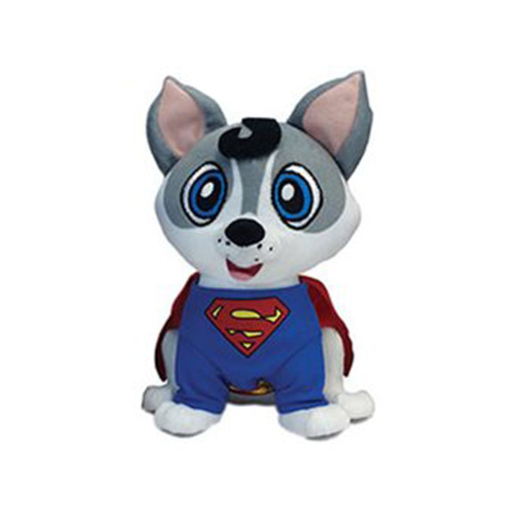 DC Pawzplay Clark Superman The Husky 8 Inch Plush