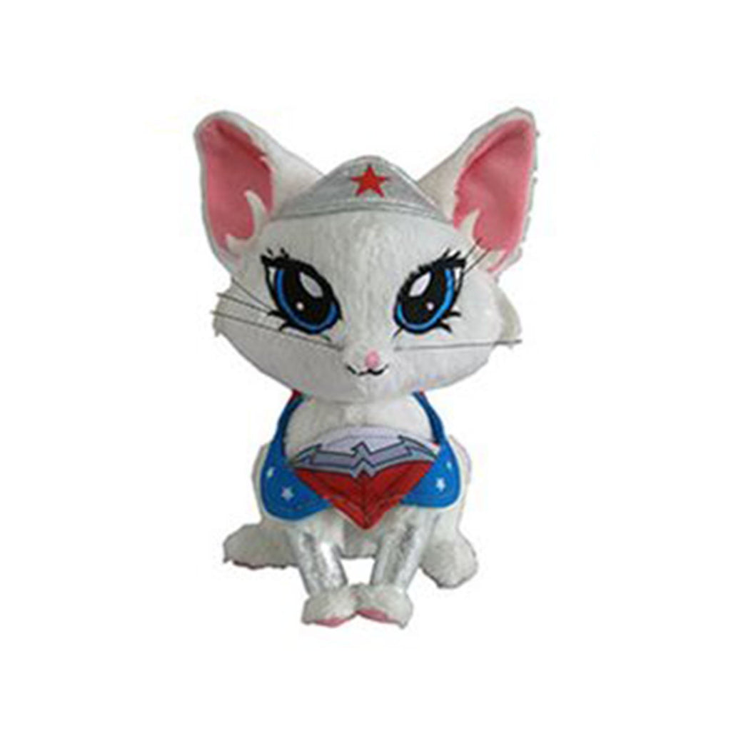 DC Pawzplay Wonder Woman Diana The Persian Kitty 8 Inch Plush