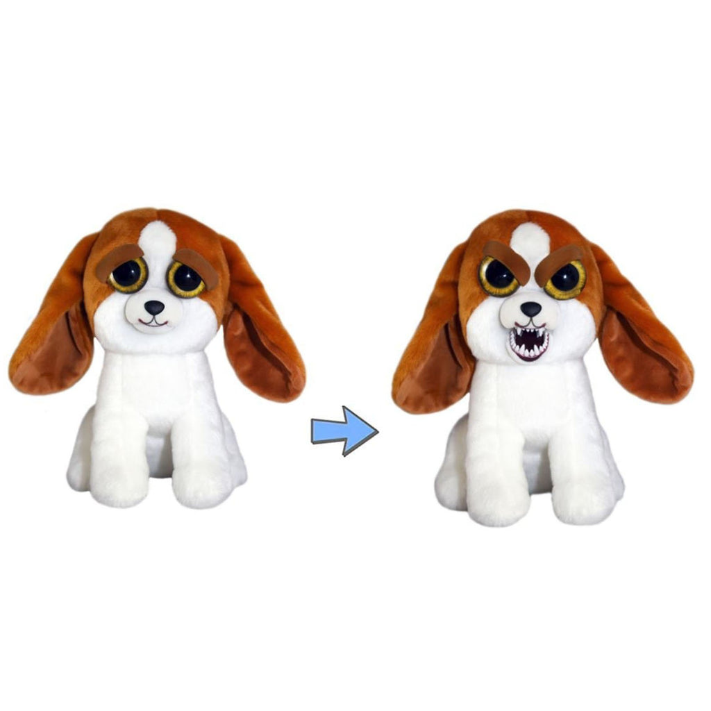 Popular Culture Plush - Feisty Pets Buford Buttsnifer Basset Hound Plush Figure