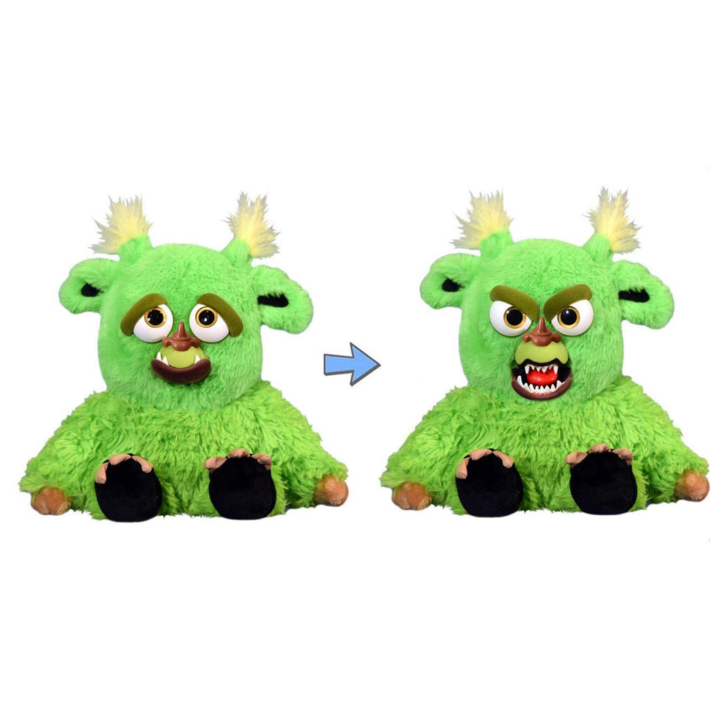 Popular Culture Plush - Feisty Pets Grayson The Glutton Green Monster Plush Figure
