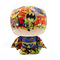 Popular Culture Plush - Yume Batman DZNR Chibi Batman Logo 7 Inch Plush Figure