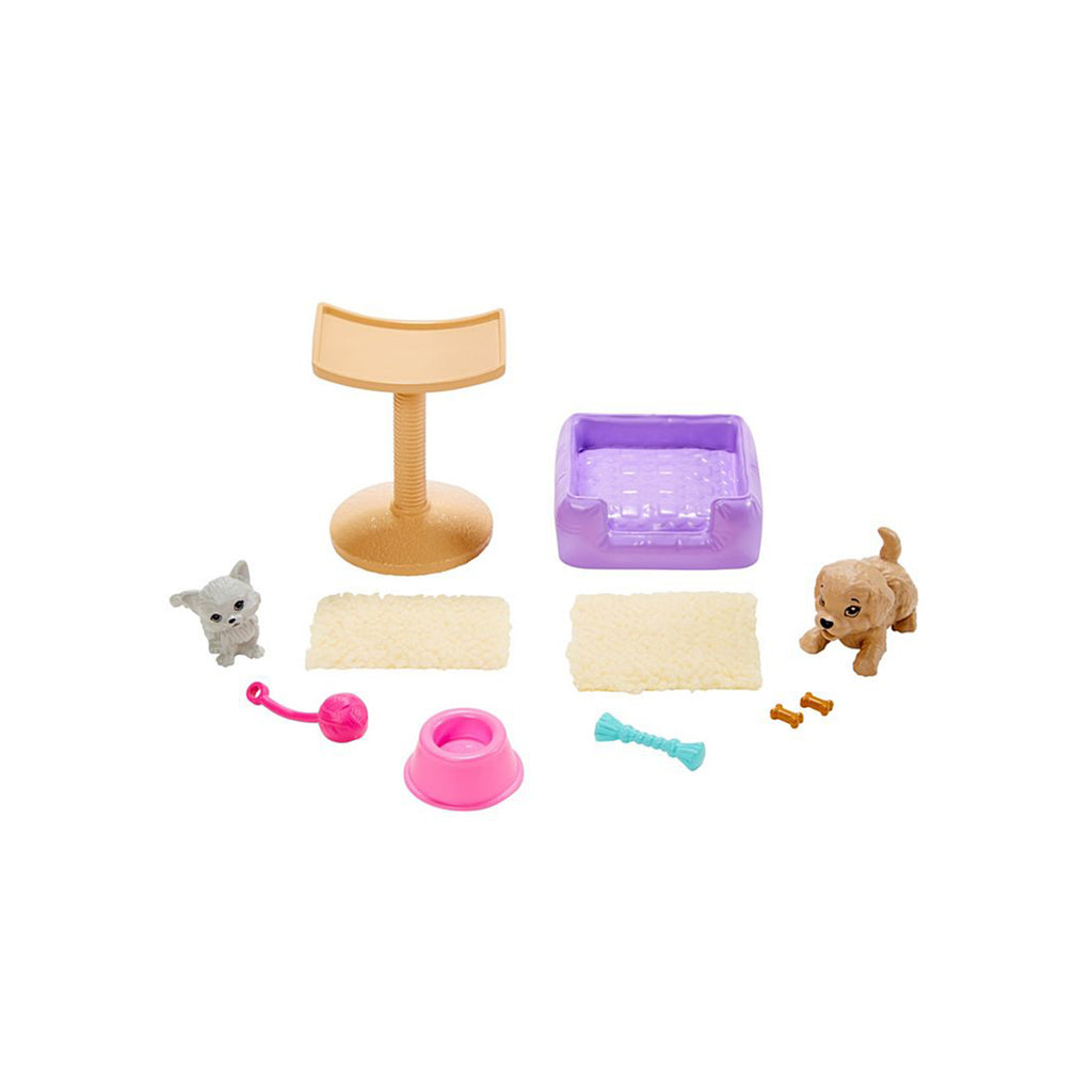Barbie Pet Dog And Cat Accessory Set