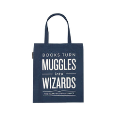 Purses - Books Turn Muggles Into Wizards Tote Bag