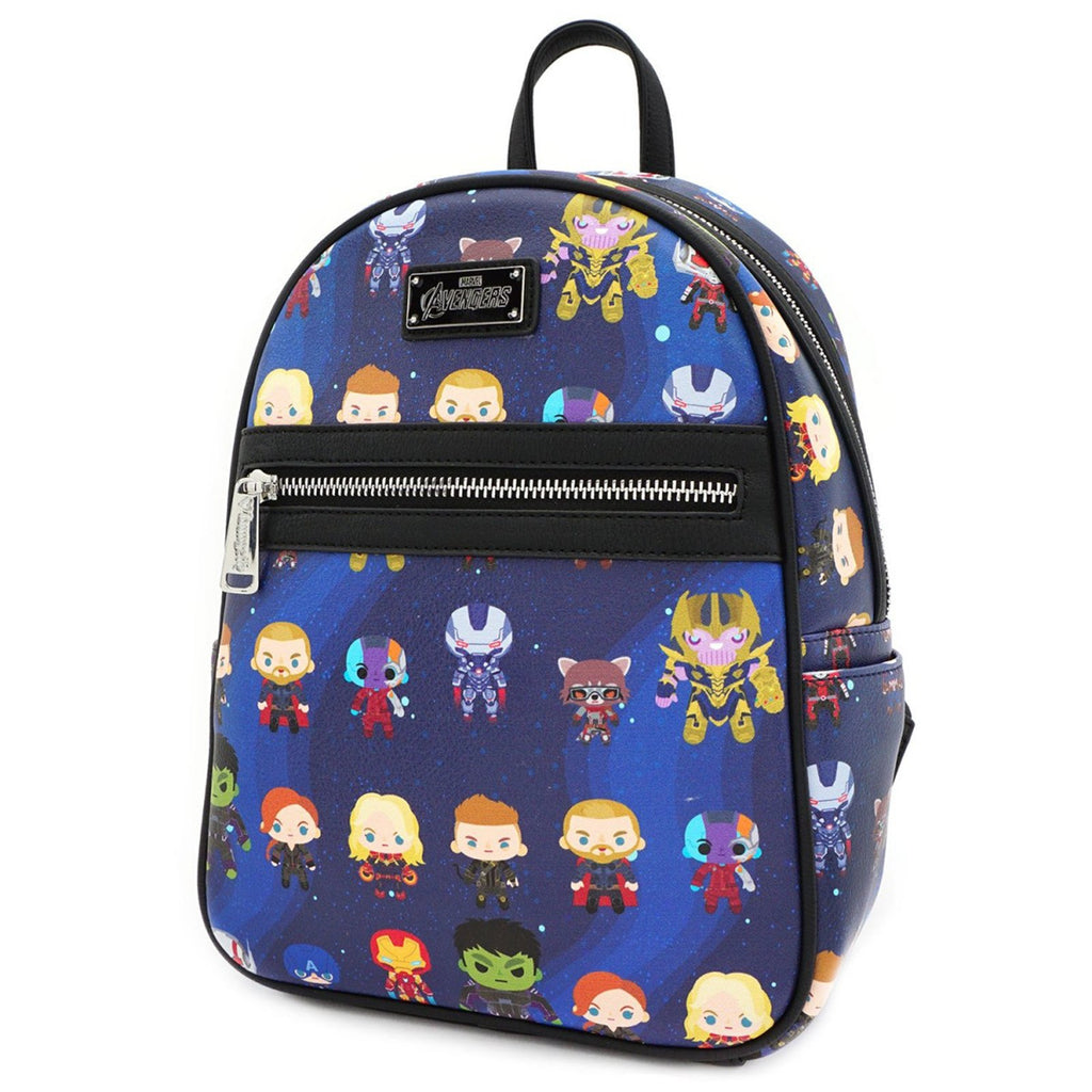 Loungefly Avengers Endgame Chibi All Over Print Mini Backpack