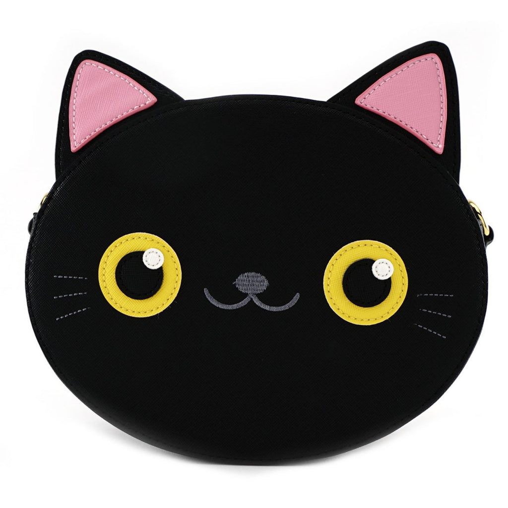 Loungefly Cat Face Crossbody Bag Purse