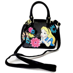 Purses - Loungefly Disney Alice In Wonderland Curiouser Mini Dome Purse Bag
