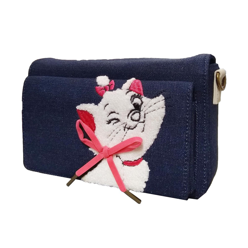 Loungefly Disney Aristocats Marie Denim Crossbody Bag Purse