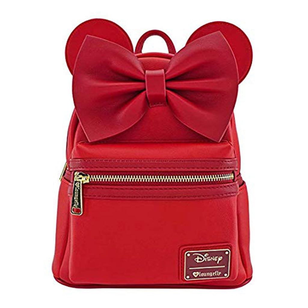 Loungefly Disney Minie Mouse Red Mini Backpack