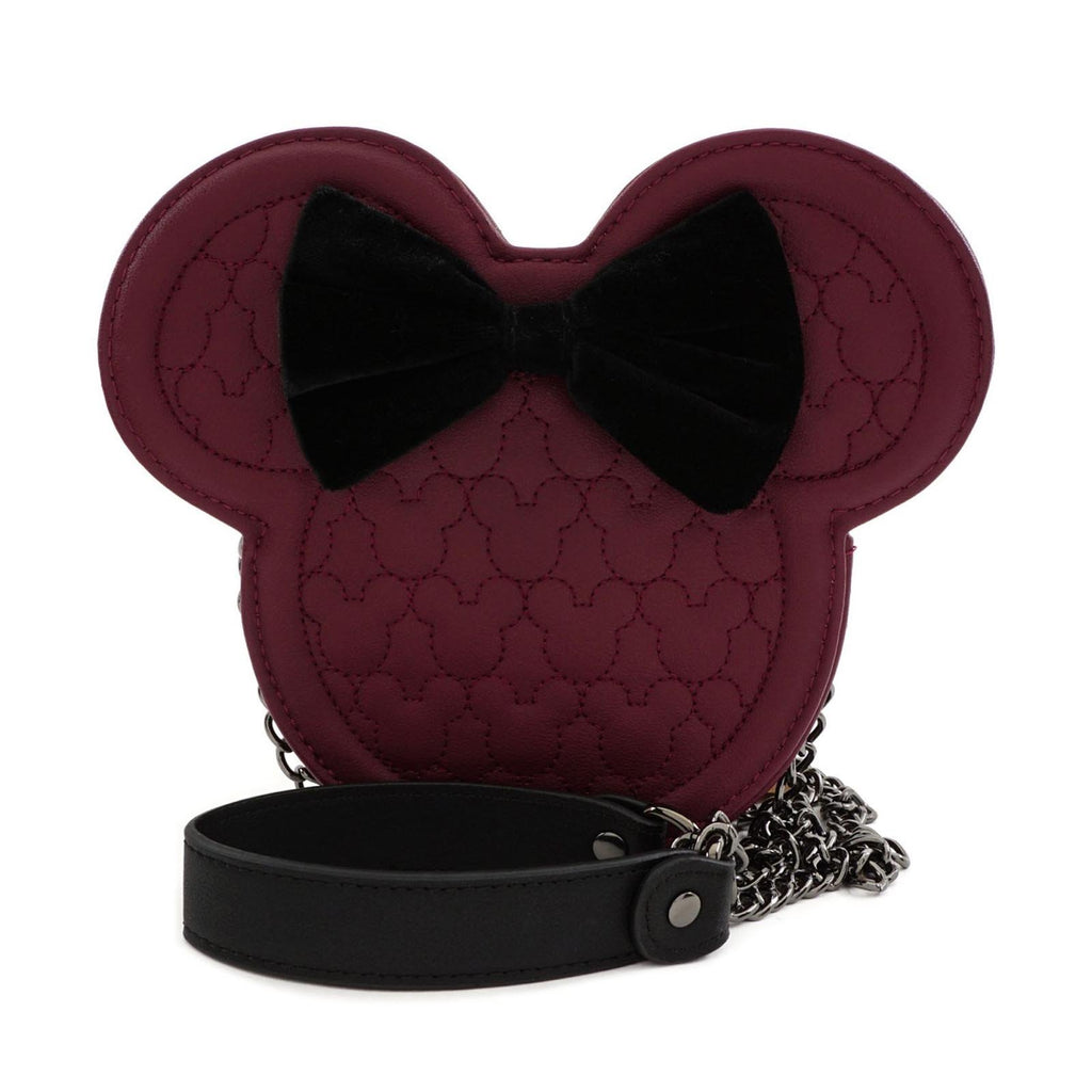 Loungefly Disney Minnie Mouse Quilted Crossbody Purse