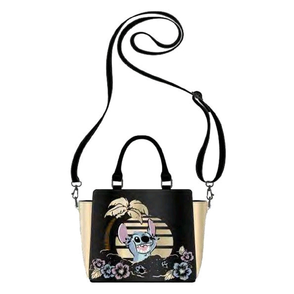 Loungefly Disney Stitch Ohana Scene Crossbody Bag Purse