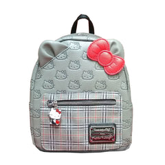 Purses - Loungefly Hello Kitty Classic Fashion Plaid Mini Backpack
