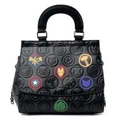 Purses - Loungefly Marvel Icons Chain Strap Crossbody Bag Purse