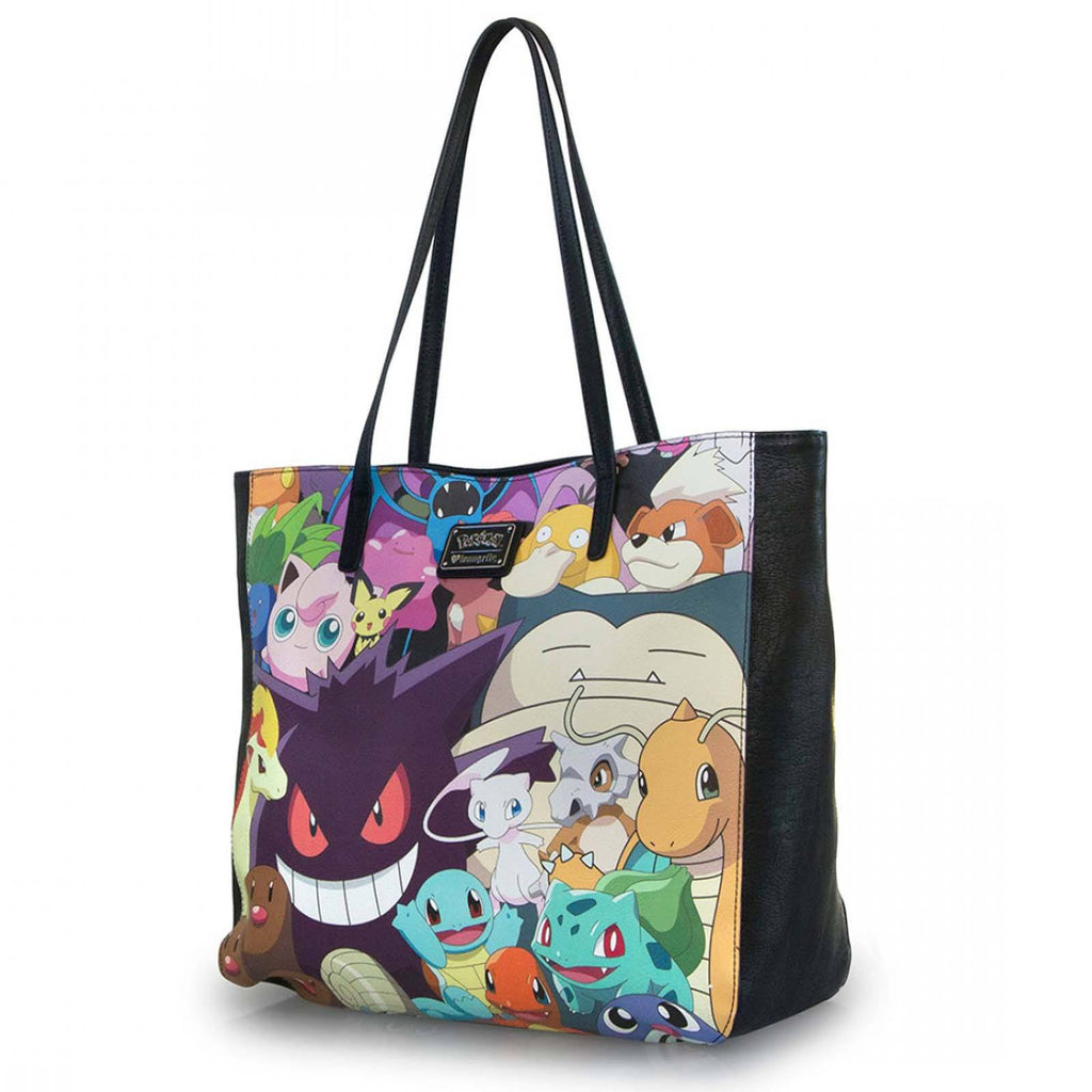 Loungefly Pokemon All Over Original Characters Tote Bag Purse