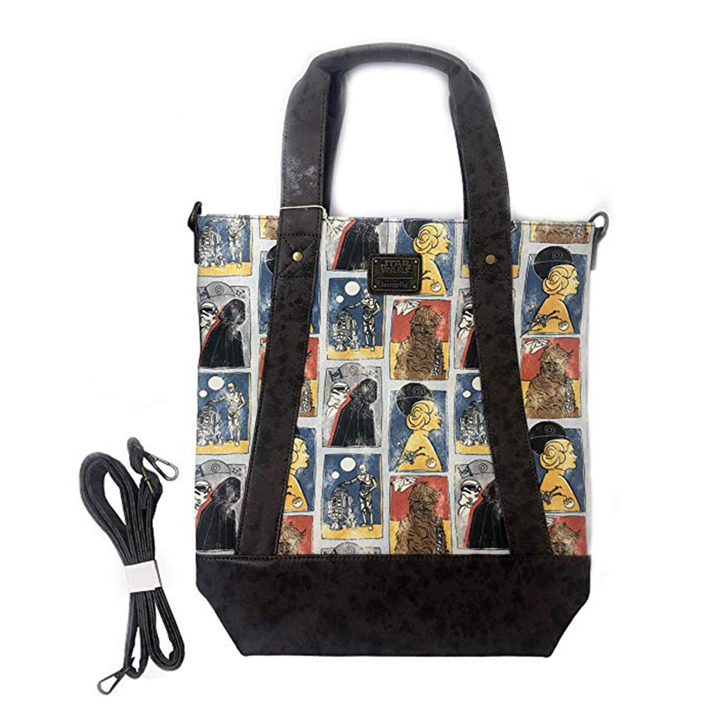Purses - Loungefly Star Wars Cards Crossbody Bag