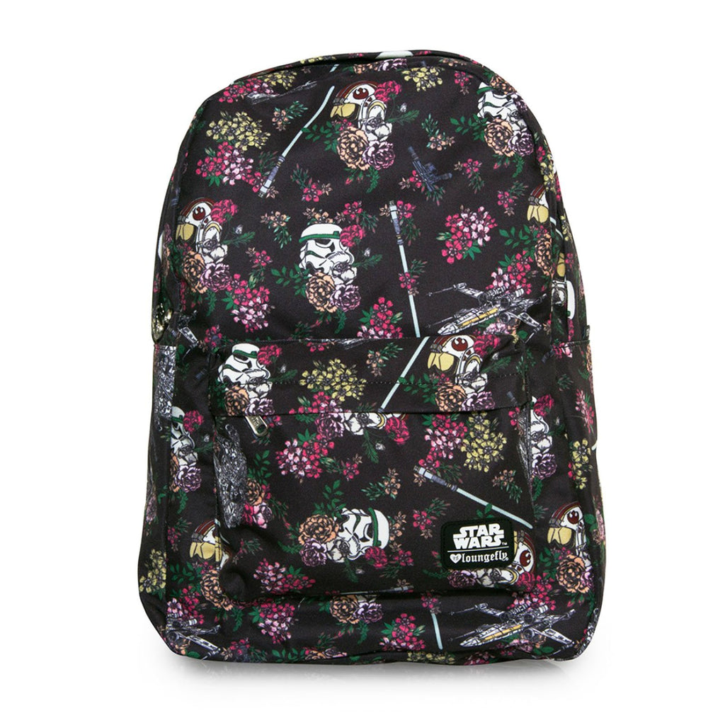 Loungefly Star Wars Floral Stormtrooper All Over Print Backpack