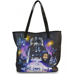 Purses - Loungefly Star Wars Space Scene Photo Real Tote