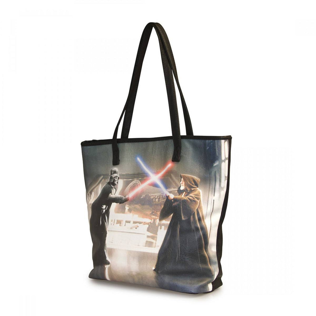 Star Wars Darth Vader & Obi-Wan Photo Real Tote