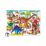 Puzzles - Crocodile Creek Day At The Museum Dinosaurs 48 Piece Puzzle