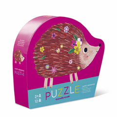 Puzzles - Crocodile Creek Happy Hedgehog 12 Piece Puzzle