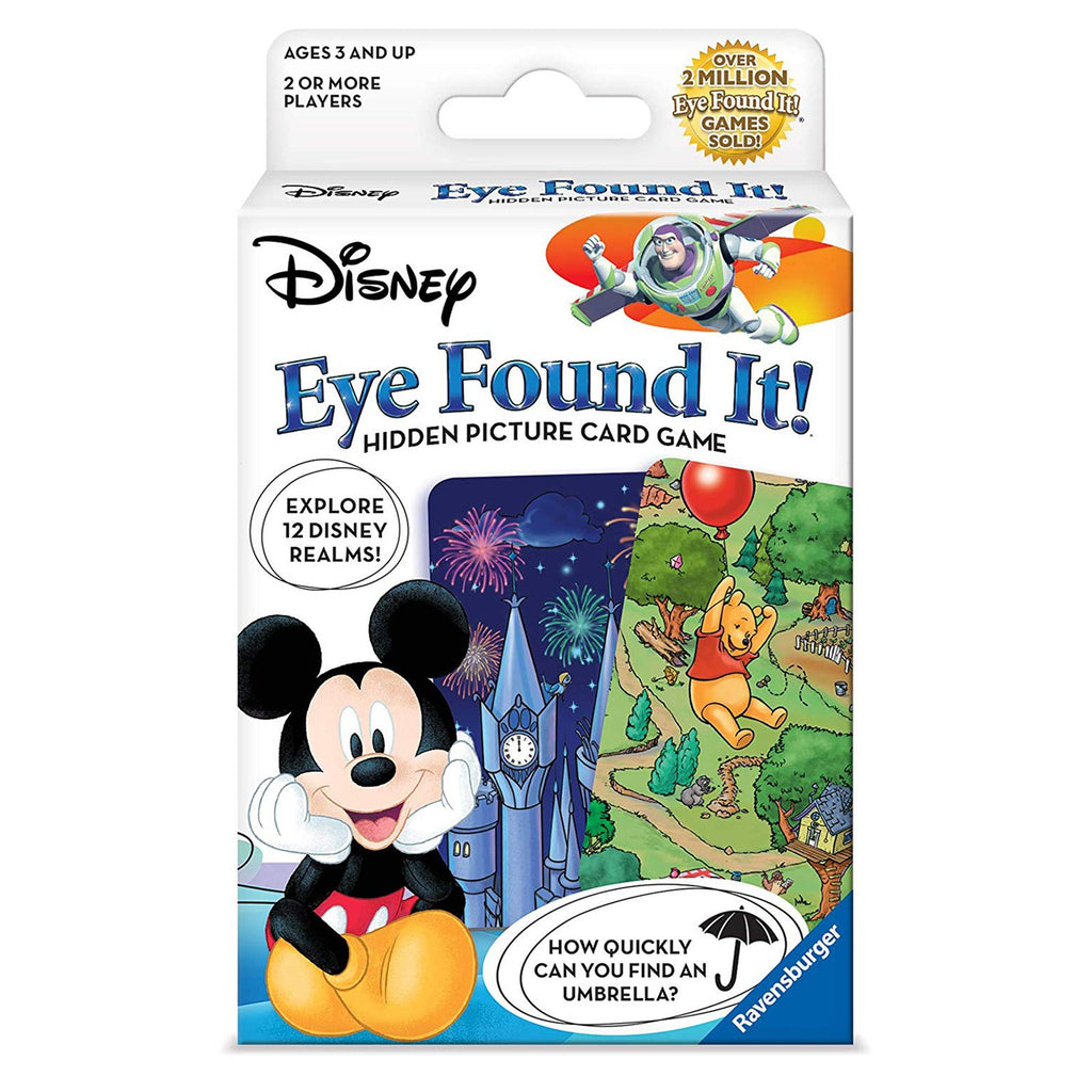 Disney Eye Found It! Hidden Picture The Card Game