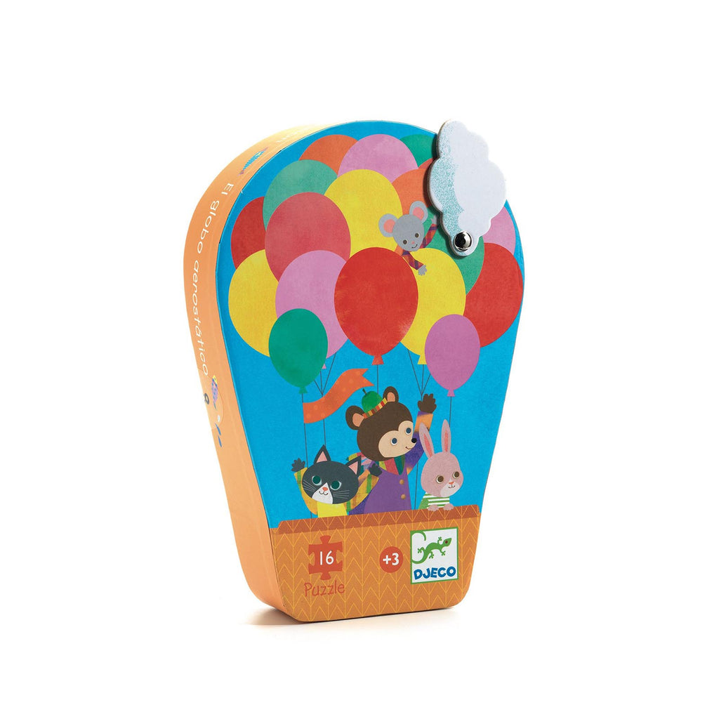 Djeco Hot Air Balloon Mini Jigsaw Puzzle