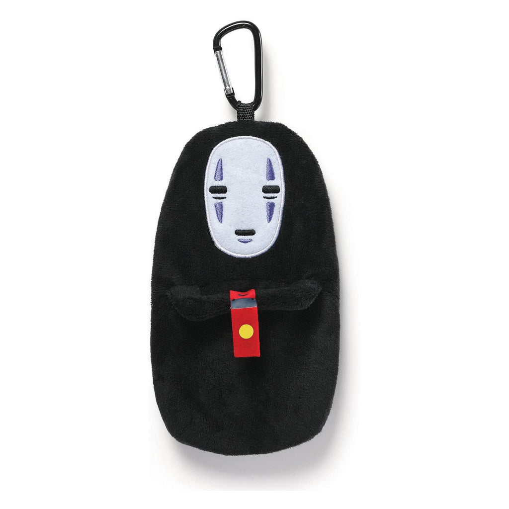 Gund Studio Ghibli Spirited Away No Face 8 Inch Plush Backpack Clip Pouch