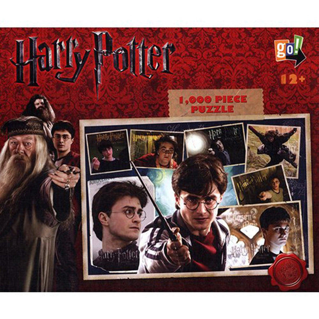 Harry Potter Collage 1000 Pieces Puzzle - Radar Toys