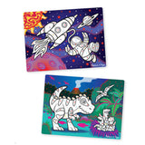 Puzzles - Melissa And Doug Easy To See Space And Dinosaurs 3D Marker Puzzle