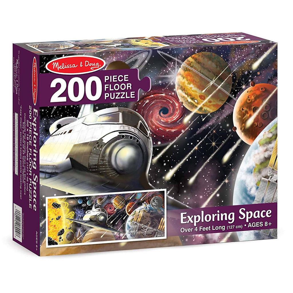 Melissa And Doug Exploring Space 200 Piece Floor Puzzle