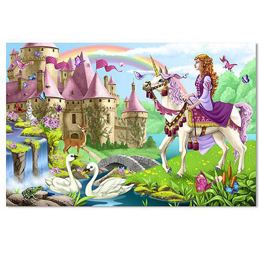 Melissa And Doug Fairy Tale Castle 48 Piece Floor Puzzle